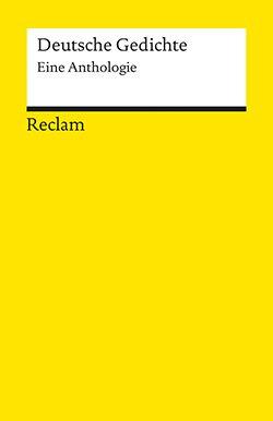 Deutsche Gedichte Reclam Verlag