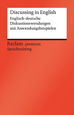 Hohmann, Heinz-Otto: Discussing in English